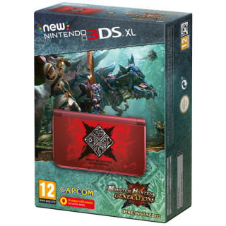 New Nintendo 3DS XL Monster Hunter Generations Edition 3DS