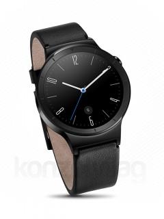 Huawei W1 Watch Black + Black leather