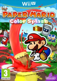 Paper Mario Colour Splash WII U