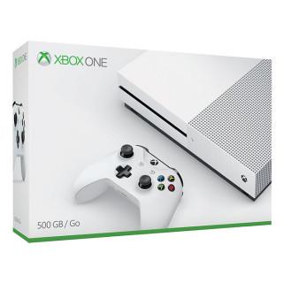 Xbox One S (Slim) 500 GB (Fehér) (használt)