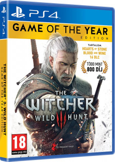 The Witcher 3: Wild Hunt Game of The Year Edition (GOTY) (használt) PS4