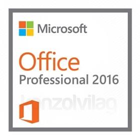 Microsoft Office Professional 2016, bármilyen elérhető nyelven telepíthető (Letölthető) PC