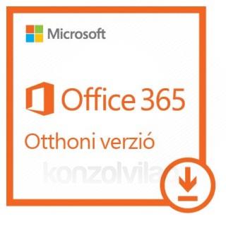 Microsoft Office 365 Otthoni verzió, bármilyen elérhető nyelven telepíthető (Letölthető) PC