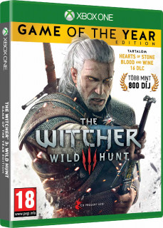 The Witcher 3: Wild Hunt Game of The Year Edition (GOTY) (használt) Xbox One