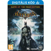 Batman Arkham Asylum Game of The Year Edition (PC) Letölthető