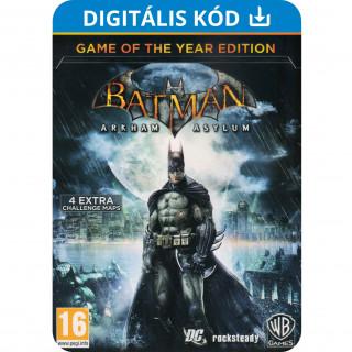 Batman Arkham Asylum Game of The Year Edition (PC) Letölthető PC