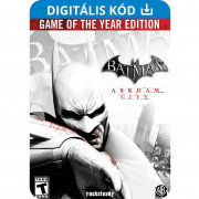Batman: Arkham City: Game of the Year Edition (PC) Letölthető PC