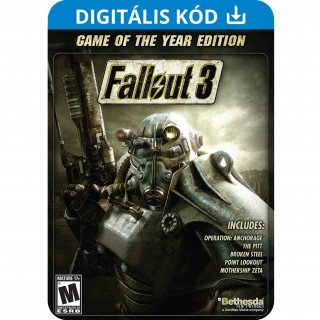 Fallout 3 Game Of The Year Edition (PC) DIGITÁLIS