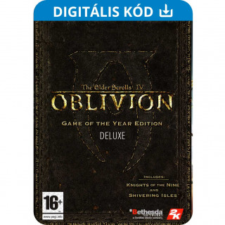 The Elder Scrolls IV: Oblivion Game of the Year Deluxe (PC) Letölthető PC