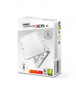 New Nintendo 3DS XL (Pearl White) 3DS