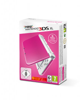 New Nintendo 3DS XL (Pink and White) 3DS