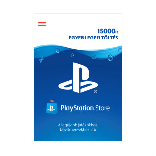 PSN Network kártya 15000 Ft (PSN Network Card - HU) MULTI