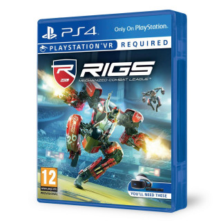 RIGS Mechanized Combat League VR (használt) PS4