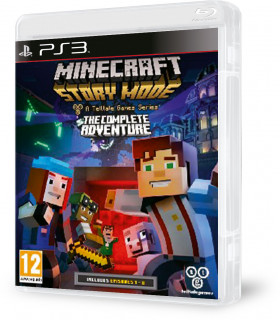Minecraft Story Mode Complete Adventure PS3