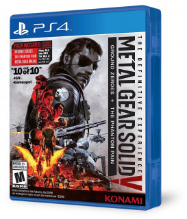 Metal Gear Solid V: The Definitive Experience (használt) PS4