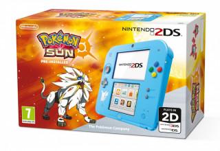 Nintendo 2DS Pokémon Ed. + Pokémon Sun