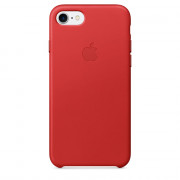 Apple IPhone 7 Piros bőrtok (MMY62ZM/A) Mobil