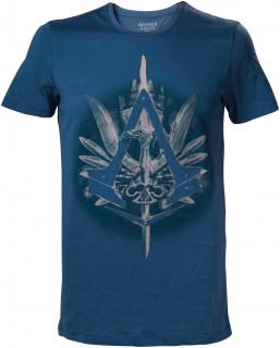 Assassin's Creed Syndicate Cane Logo Blue - Póló - Good Loot (L-es méret) AJÁNDÉKTÁRGY