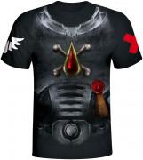 Warhammer 40,000 Space Marine Blood Angels - Póló - Good Loot (XL-es méret) AJÁNDÉKTÁRGY