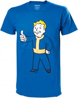 Fallout 4 Vault Boy Approves - Póló (M-es méret) AJÁNDÉKTÁRGY