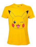 Pokémon Men's Pikachu Yellow - Póló - Good Loot (L-es méret) AJÁNDÉKTÁRGY