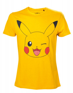 Pokémon Men's Pikachu Yellow - Póló - Good Loot (XL-es méret) AJÁNDÉKTÁRGY