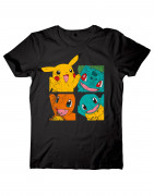 Pokémon Men's T-Shirt Frontprint - Póló - Good Loot (XL-es méret) AJÁNDÉKTÁRGY