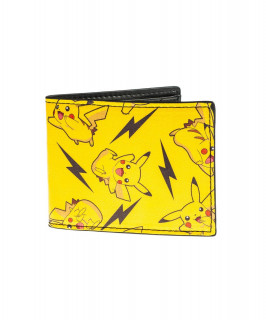 Pokémon All Over Pikachu Bifold Wallet - Pénztárca - Good Loot