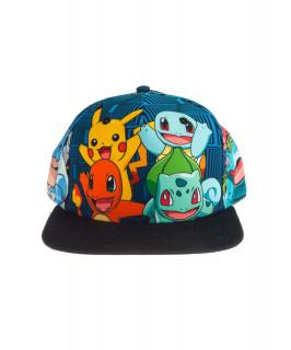 Pokémon Charmander and Friends Snapback - Sapka - Good Loot AJÁNDÉKTÁRGY