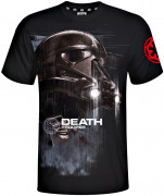 Star Wars Death Trooper Black - Póló - Good Loot (XL-es méret) AJÁNDÉKTÁRGY