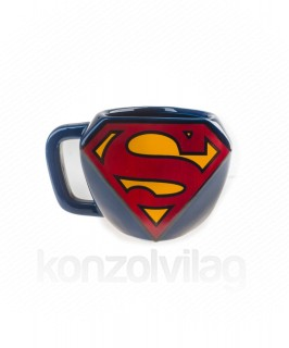 DC Comics Superman Shaped Mug - Bögre - Good Loot AJÁNDÉKTÁRGY