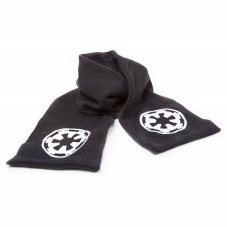 Star Wars Black Scarf With White Galactic Empire Logo - Sál - Good Loot