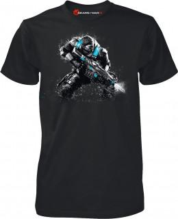 Gears of War 4 JD Fenix Action Black - Póló - Good Loot (M-es méret) AJÁNDÉKTÁRGY
