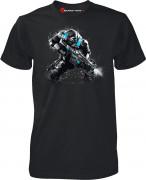 Gears of War 4 JD Fenix Action Black - Póló - Good Loot (XL-es méret) AJÁNDÉKTÁRGY