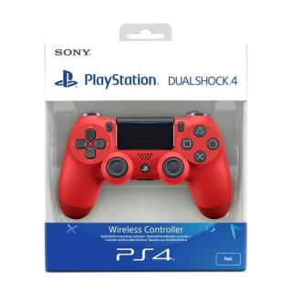 PlayStation 4 (PS4) Dualshock 4 Kontroller (Piros) (2016)