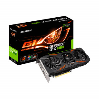 Gigabyte GeForce GTX 1080 8GB G1 Gaming videokártya (GV-N1080G1 GAMING-8GD)