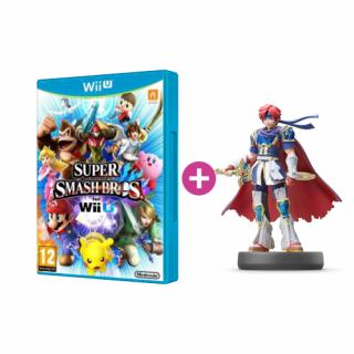 Super Smash Bros + amiibo Smash Roy 55 Wii