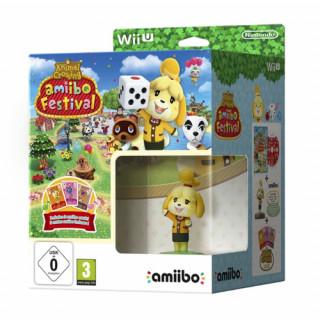 WiiU Animal Cr amiibo Festival+amiibo Isabel+3card