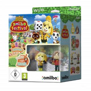 WiiU Animal Crossing amiibo Festival+2amiibo+3card