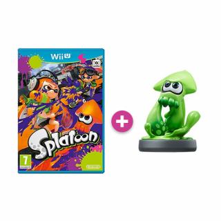 Splatoon + amiibo Splatoon Squid