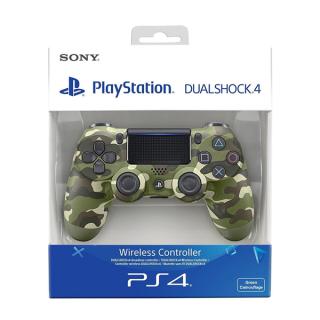 PlayStation 4 (PS4) Dualshock 4 Kontroller (Zöld terepmintás)