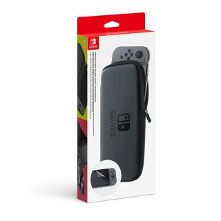 Nintendo Switch Hordozható tok és képernyővédő fólia Nintendo Switch