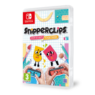 Snipperclips: Cut it out, together! Nintendo Switch