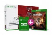 Xbox One S (Slim) 1TB Halo Wars 2 Ultimate Edition + Dead Rising 4 + 3 hónapos Live Gold előfizetés XBOX ONE