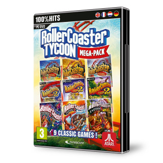 RollerCoaster Tycoon 9 Megapack PC