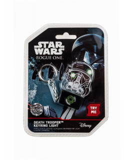 Star Wars Rogue One Death Trooper Keyring Light - Kulcstartó