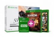 Xbox One S (Slim) 1TB Forza Horizon 3 + GTA V + Dead Rising 4 + 3 hónapos Live Gold előfizetés XBOX ONE