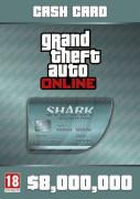 Grand Theft Auto Online: Megalodon Shark Card (PC) Letölthető PC