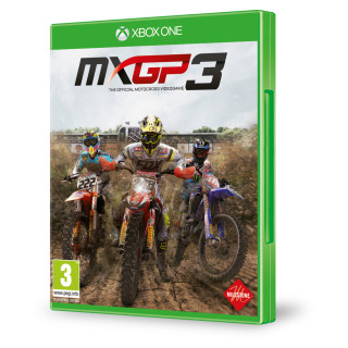 MXGP 3 (The Official Motocross Videogame) (használt) XBOX ONE