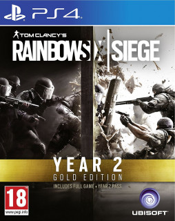 Rainbow Six Siege Year 2 Gold Edition PS4